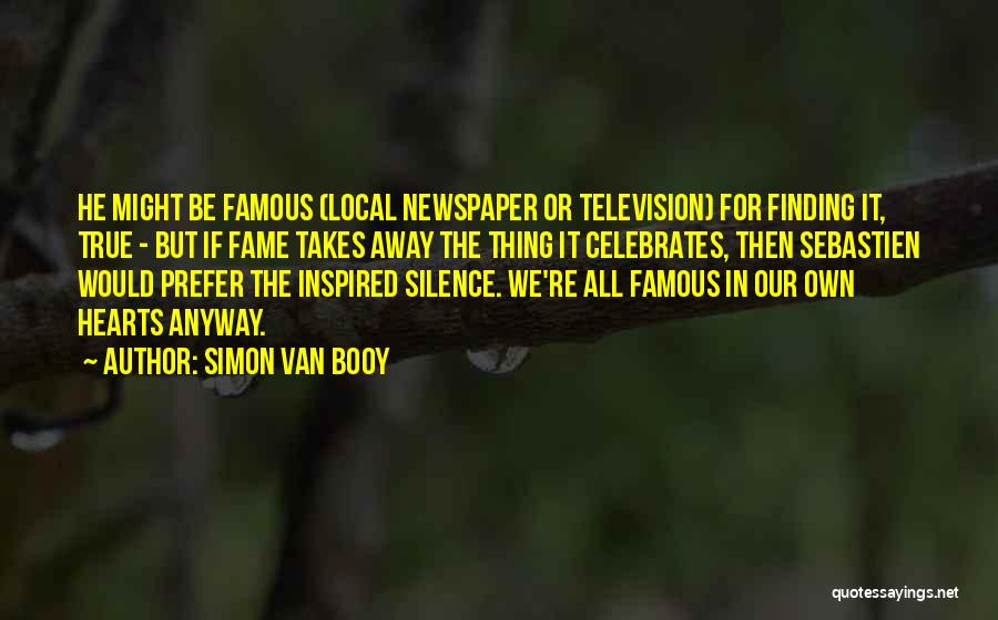 In Silence Quotes By Simon Van Booy