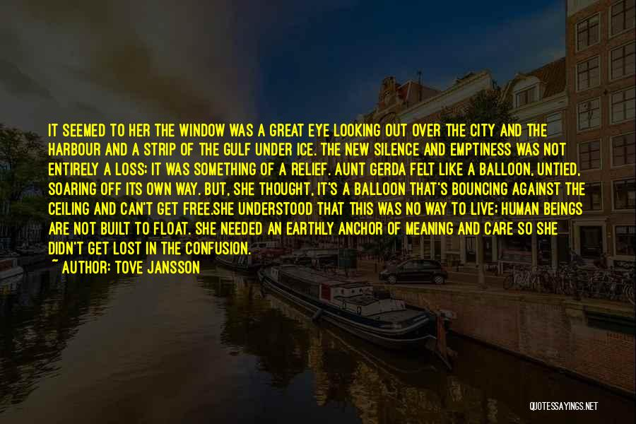 In Silence Quotes By Tove Jansson