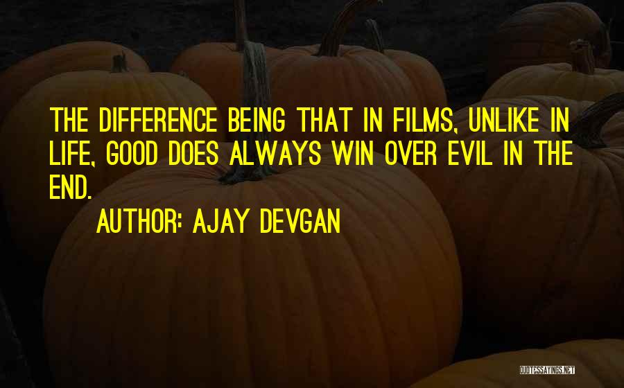 In The End I Will Win Quotes By Ajay Devgan