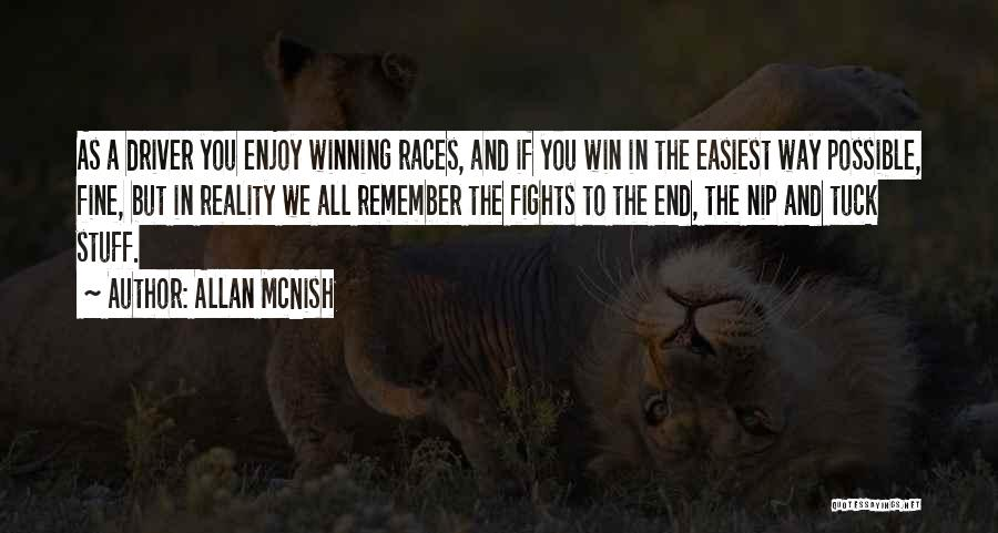 In The End I Will Win Quotes By Allan McNish
