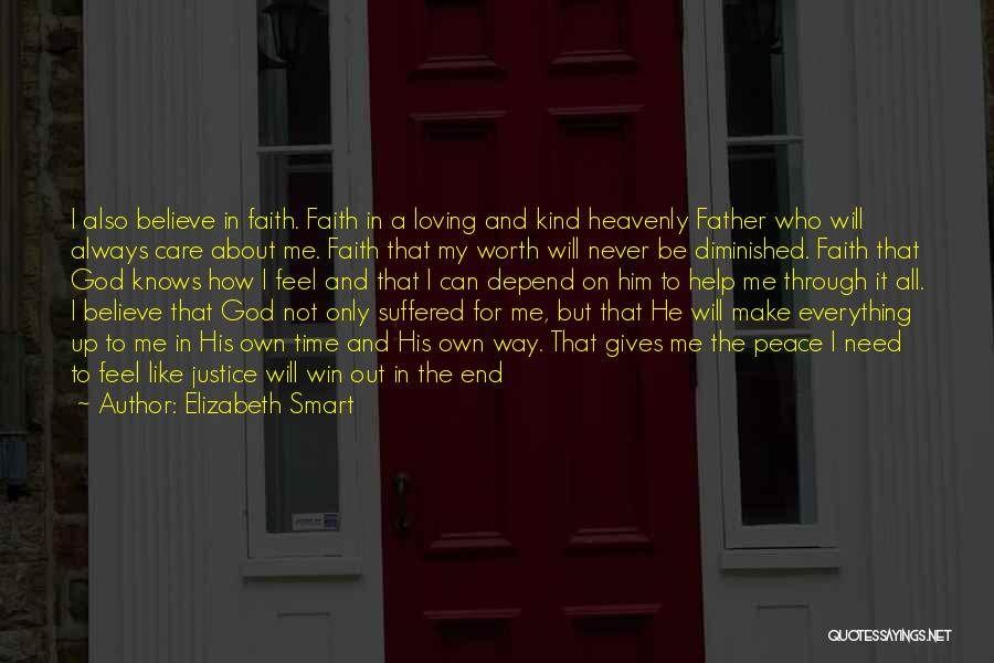 In The End I Will Win Quotes By Elizabeth Smart