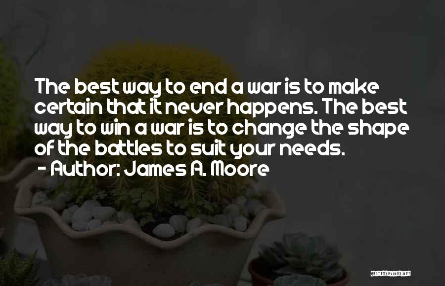In The End I Will Win Quotes By James A. Moore