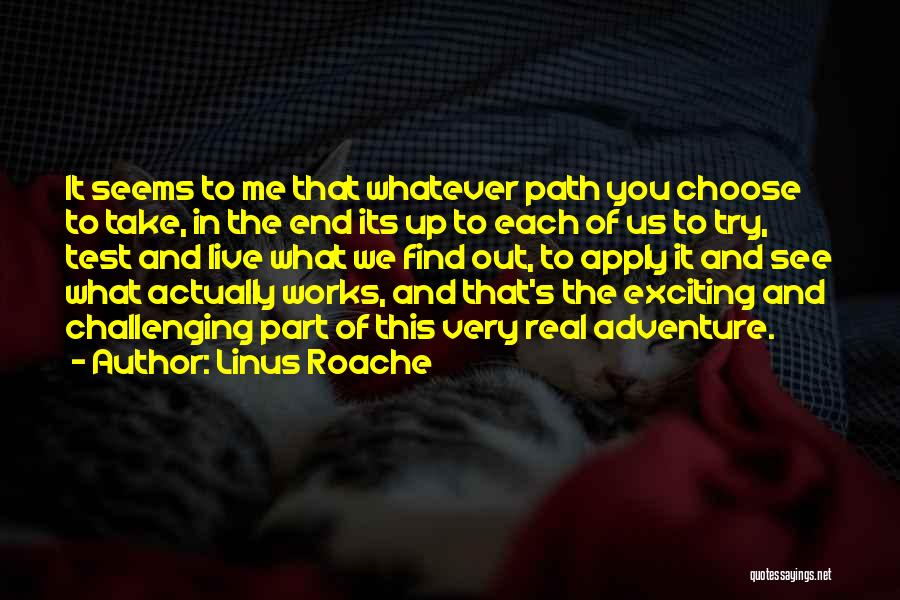 In The End You Find Out Quotes By Linus Roache
