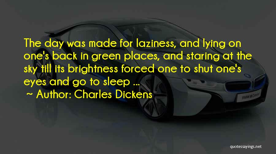 In The Nature Quotes By Charles Dickens
