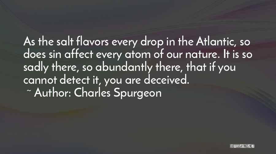 In The Nature Quotes By Charles Spurgeon