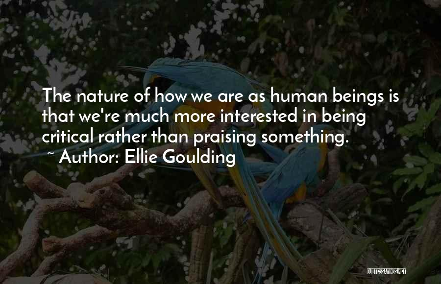 In The Nature Quotes By Ellie Goulding