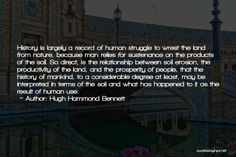 In The Nature Quotes By Hugh Hammond Bennett