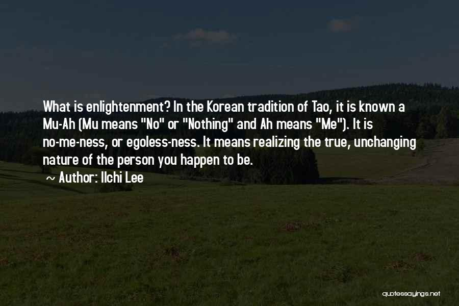 In The Nature Quotes By Ilchi Lee