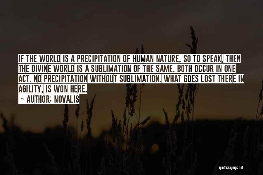 In The Nature Quotes By Novalis