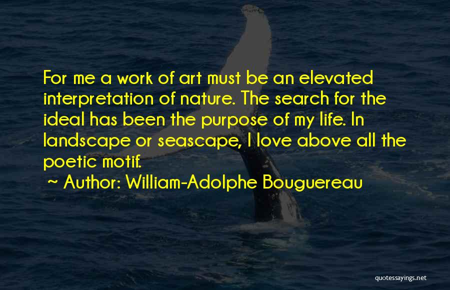 In The Nature Quotes By William-Adolphe Bouguereau