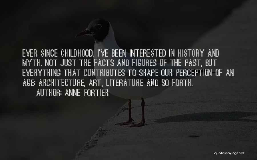 In The Past Quotes By Anne Fortier