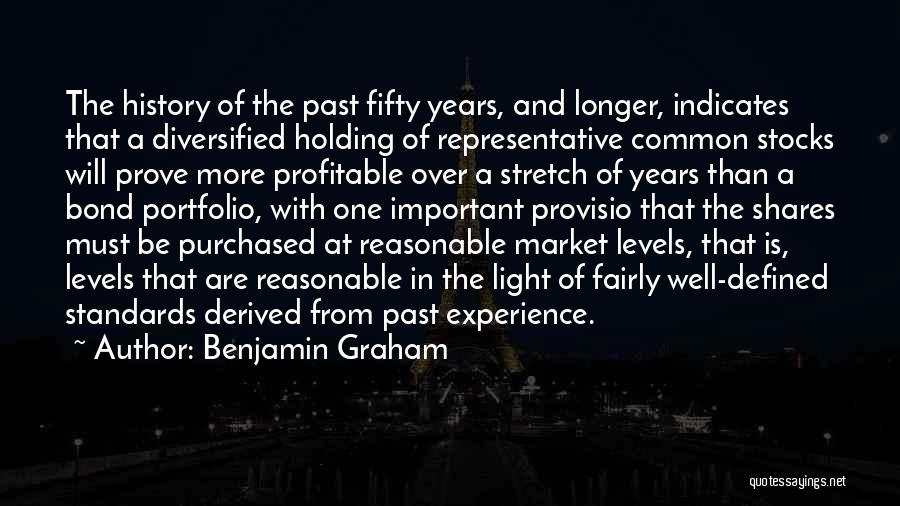 In The Past Quotes By Benjamin Graham