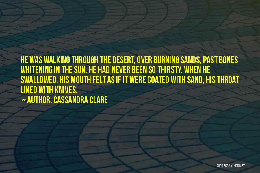 In The Past Quotes By Cassandra Clare