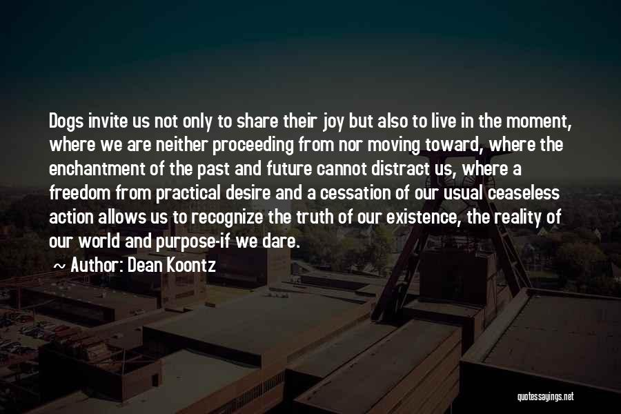 In The Past Quotes By Dean Koontz