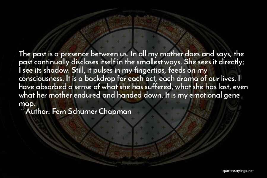 In The Past Quotes By Fern Schumer Chapman