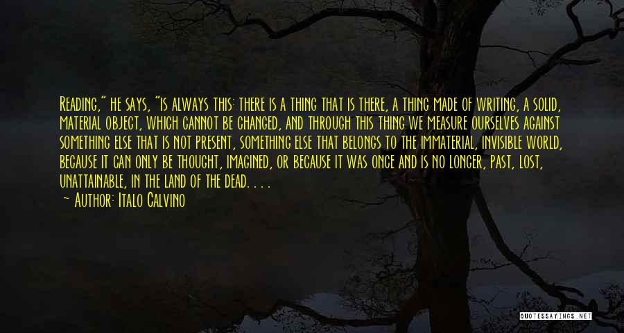 In The Past Quotes By Italo Calvino