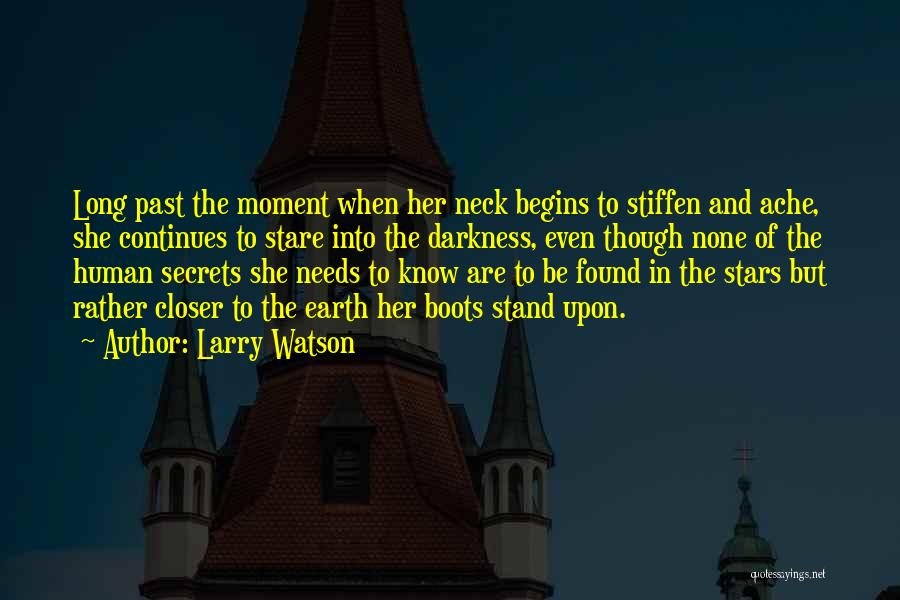 In The Past Quotes By Larry Watson