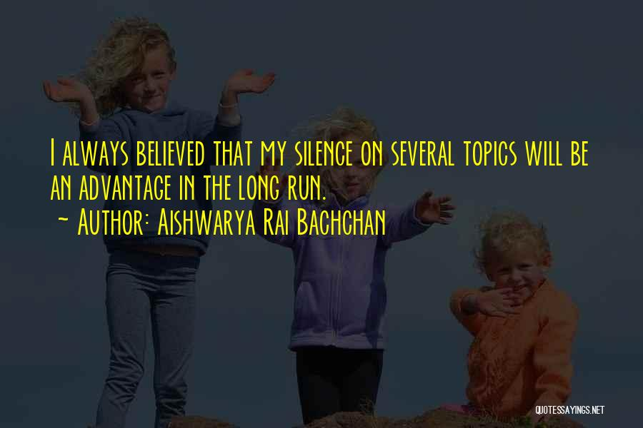 In The Silence Quotes By Aishwarya Rai Bachchan