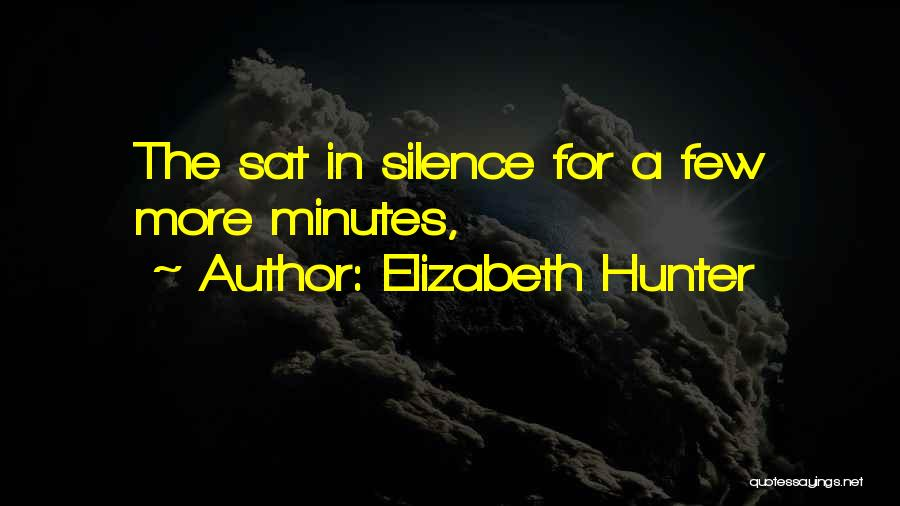 In The Silence Quotes By Elizabeth Hunter