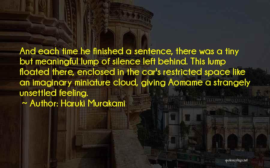 In The Silence Quotes By Haruki Murakami
