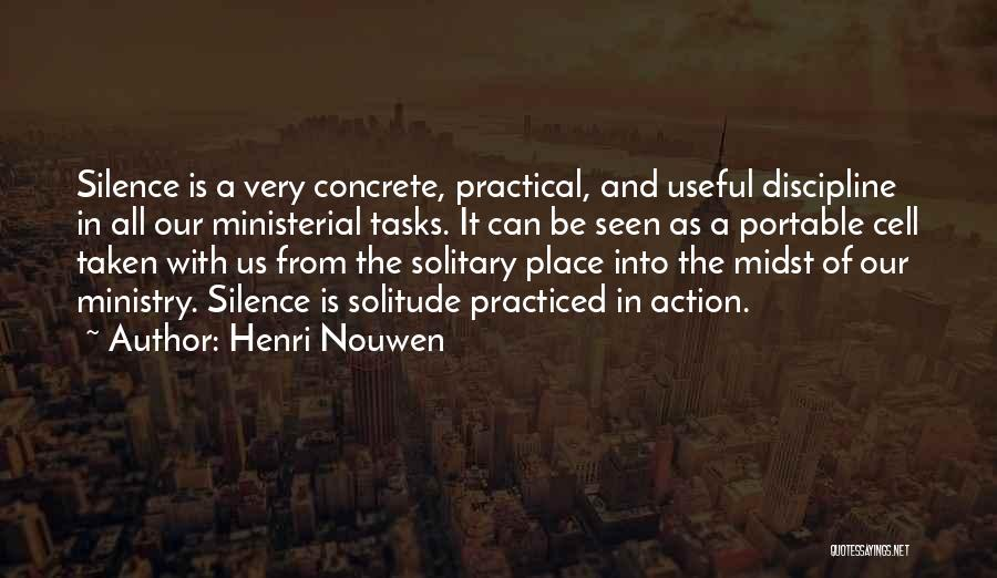 In The Silence Quotes By Henri Nouwen