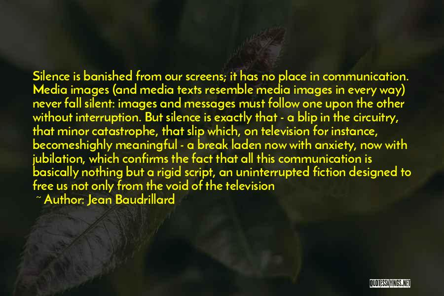In The Silence Quotes By Jean Baudrillard
