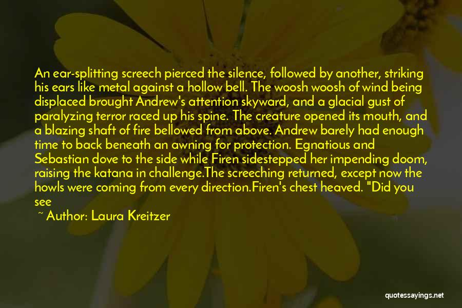 In The Silence Quotes By Laura Kreitzer
