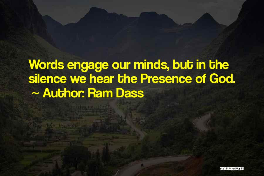 In The Silence Quotes By Ram Dass