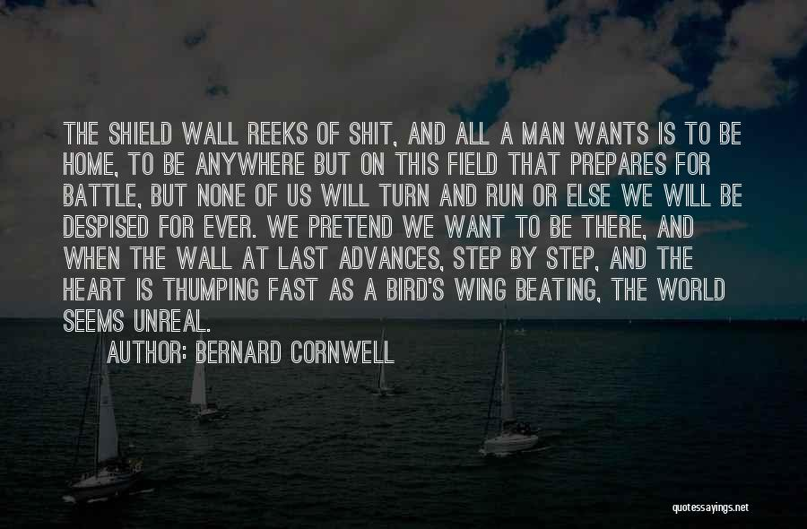 In This Home Wall Quotes By Bernard Cornwell