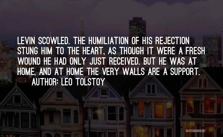 In This Home Wall Quotes By Leo Tolstoy