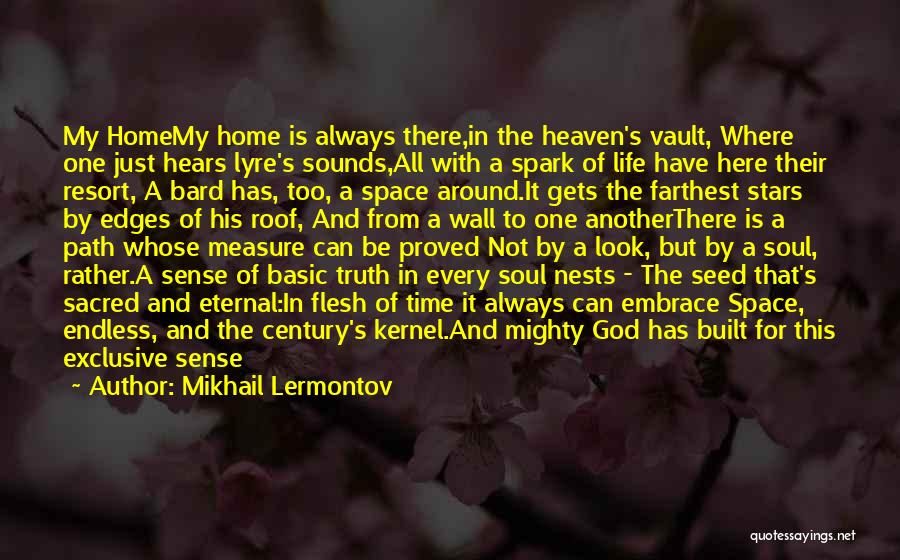 In This Home Wall Quotes By Mikhail Lermontov