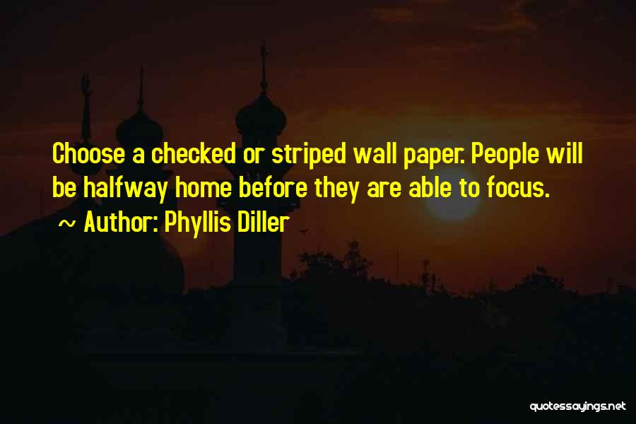 In This Home Wall Quotes By Phyllis Diller