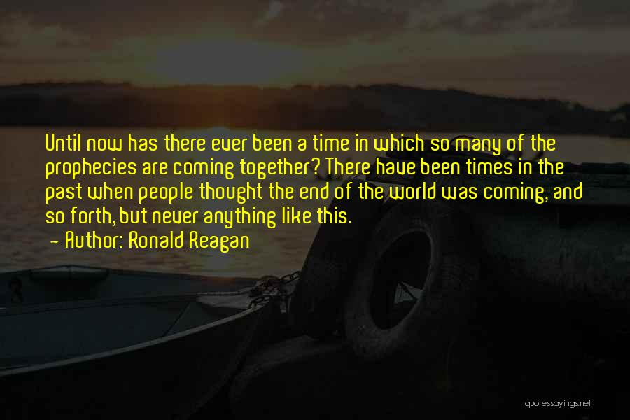 In Times Like This Quotes By Ronald Reagan