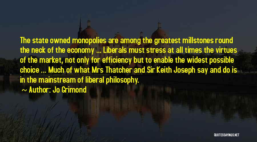 In Times Of Stress Quotes By Jo Grimond