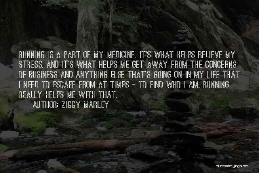 In Times Of Stress Quotes By Ziggy Marley