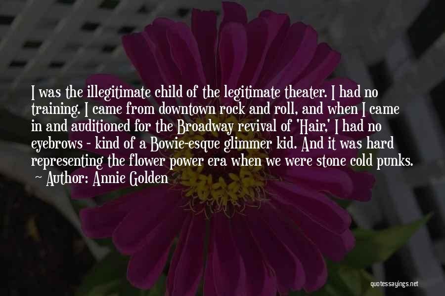 In Training Quotes By Annie Golden