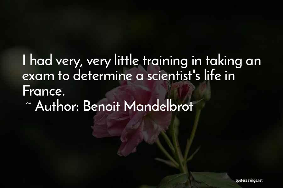 In Training Quotes By Benoit Mandelbrot