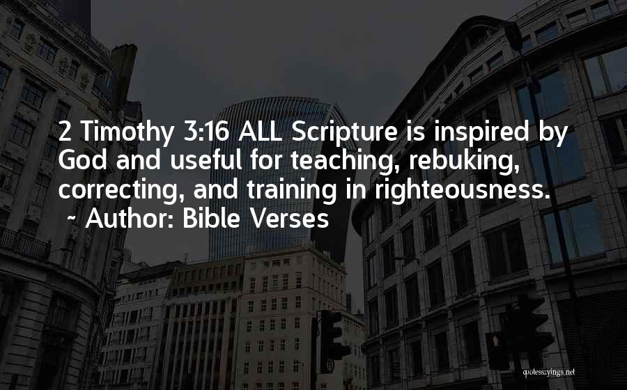 In Training Quotes By Bible Verses