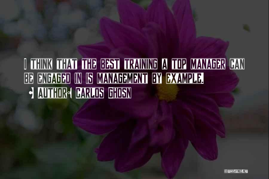 In Training Quotes By Carlos Ghosn