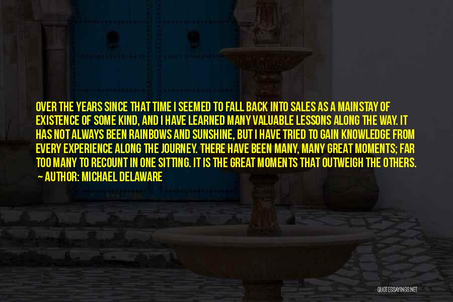 In Training Quotes By Michael Delaware