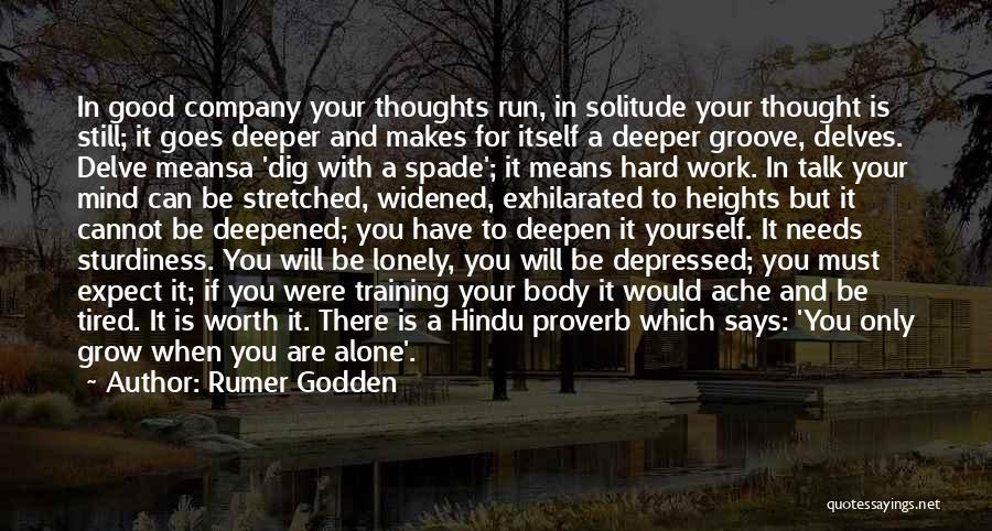 In Training Quotes By Rumer Godden