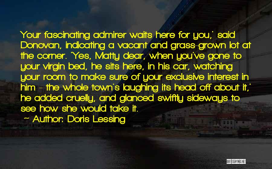 In Your Corner Quotes By Doris Lessing