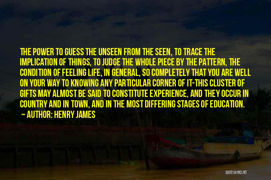 In Your Corner Quotes By Henry James