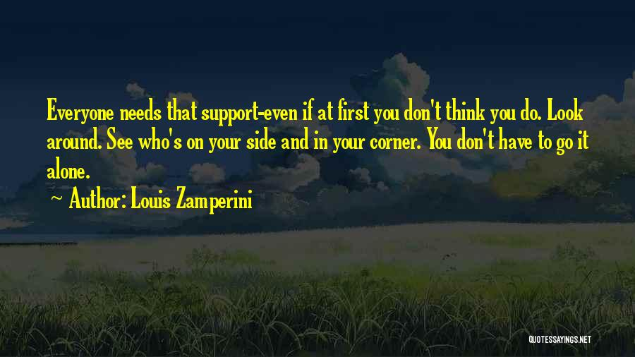 In Your Corner Quotes By Louis Zamperini
