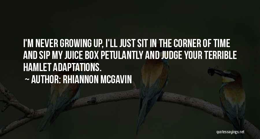 In Your Corner Quotes By Rhiannon McGavin