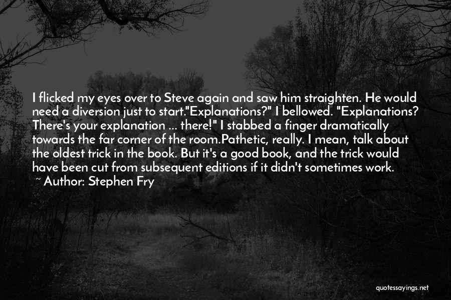 In Your Corner Quotes By Stephen Fry