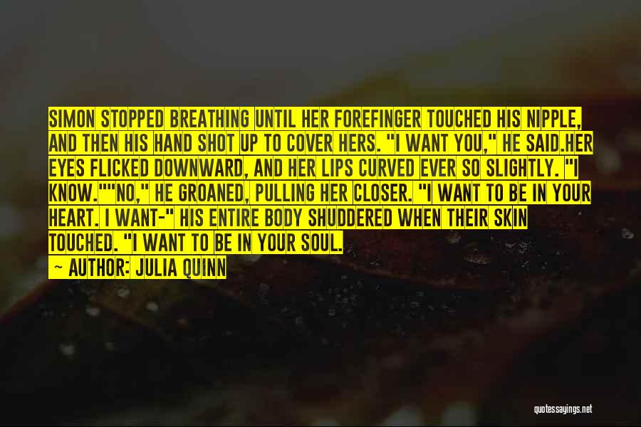 In Your Eyes Love Quotes By Julia Quinn