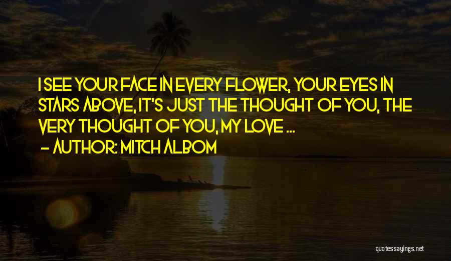 In Your Eyes Love Quotes By Mitch Albom