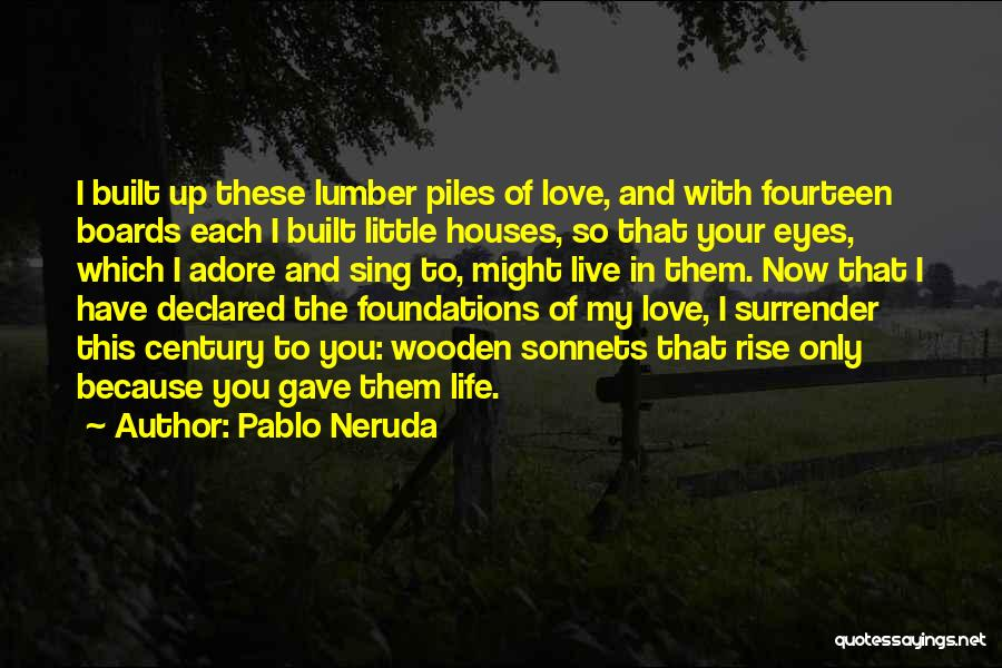 In Your Eyes Love Quotes By Pablo Neruda
