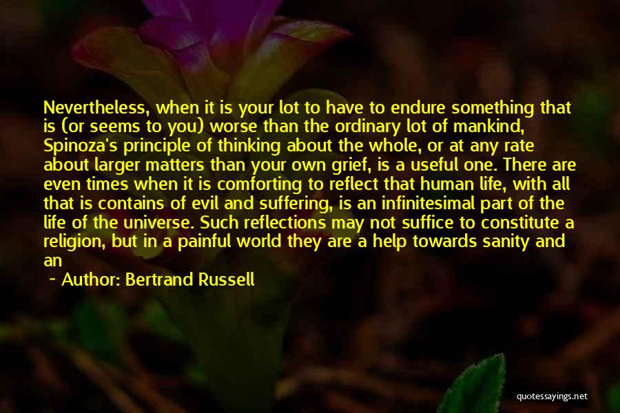 In Your Own World Quotes By Bertrand Russell